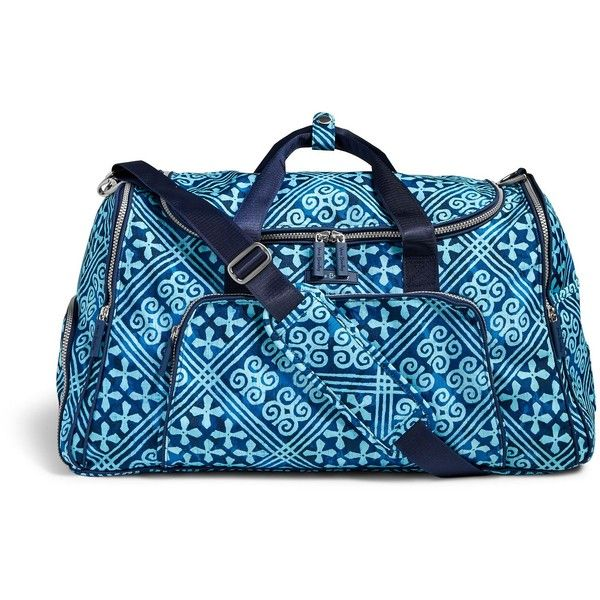 Vera Bradley Lighten Up Ultimate Gym Bag 290 TND Liked On Polyvore Featuring