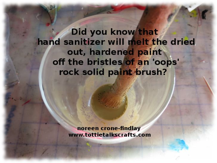 How To Get Rid Of Dried Paint On Brushes