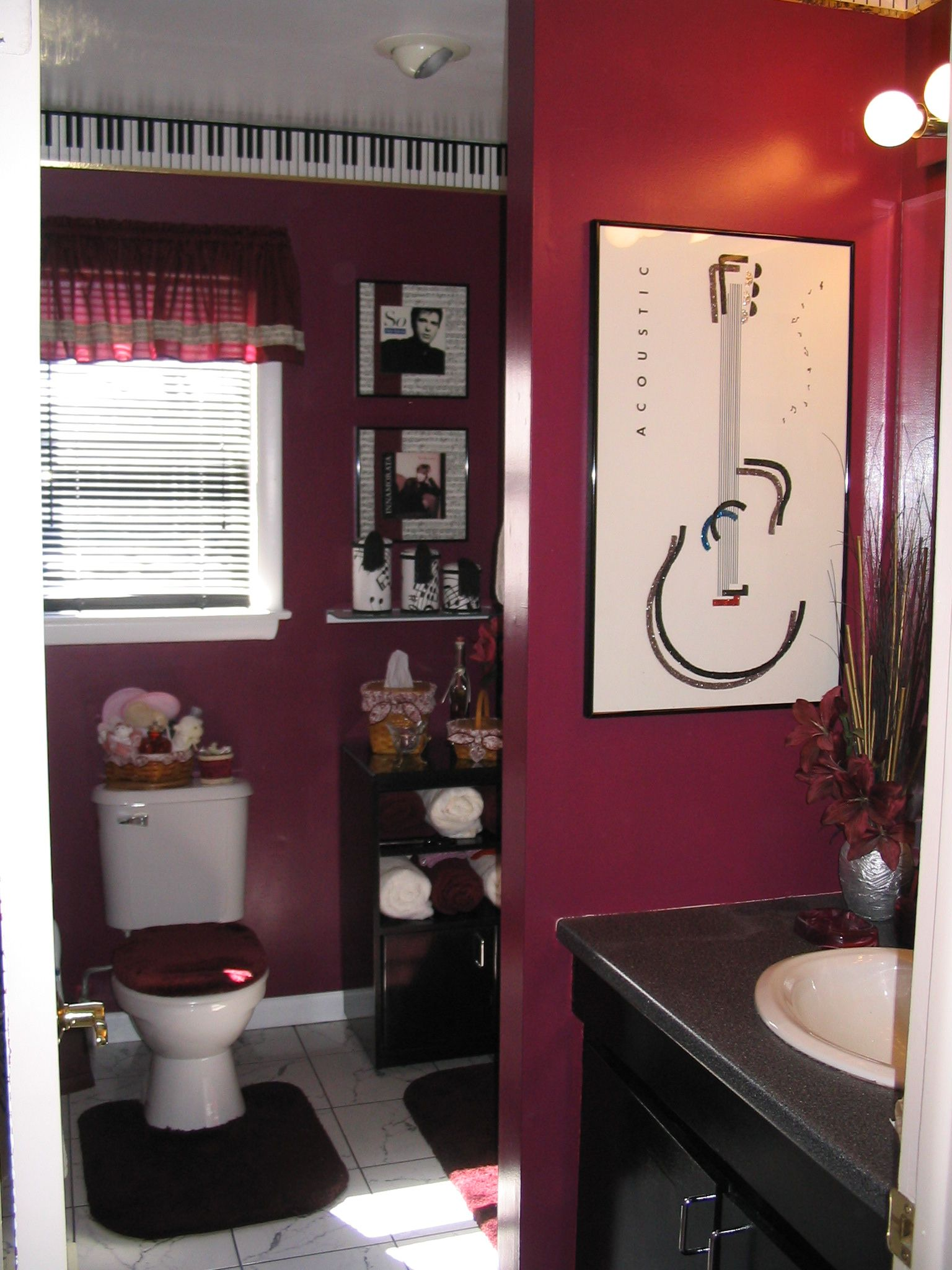 Themed Bathrooms Ideas My Music Themed Bathroom Interiors Pinterest Room