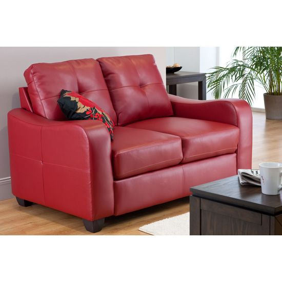 Superieur Small Red Leather Sofas For Vibrant Small Living Area In 2017   Couches U0026  Sofa