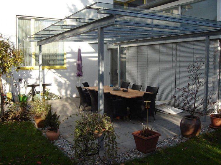 Toiture Transparente Pour Terrasse Avec Cadre En Aluminium Moderne Et Stable Toiture Transparente Terrasse Patio Contemporain