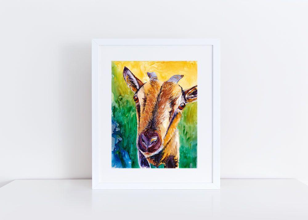 Goat Print Products Polaroid Film Polaroid Frame
