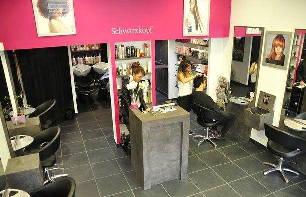 HAIR\'MES COIFFURE / Endroit moderne et convivial, teinté de gris, de ...
