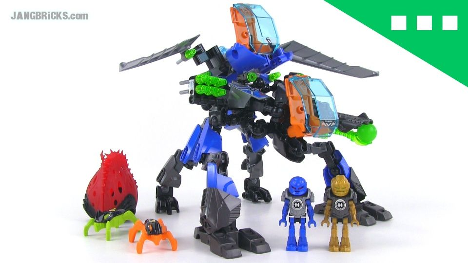 Jangbricks Lego Reviews Mocs Hero Factory Surge Rocka Combat