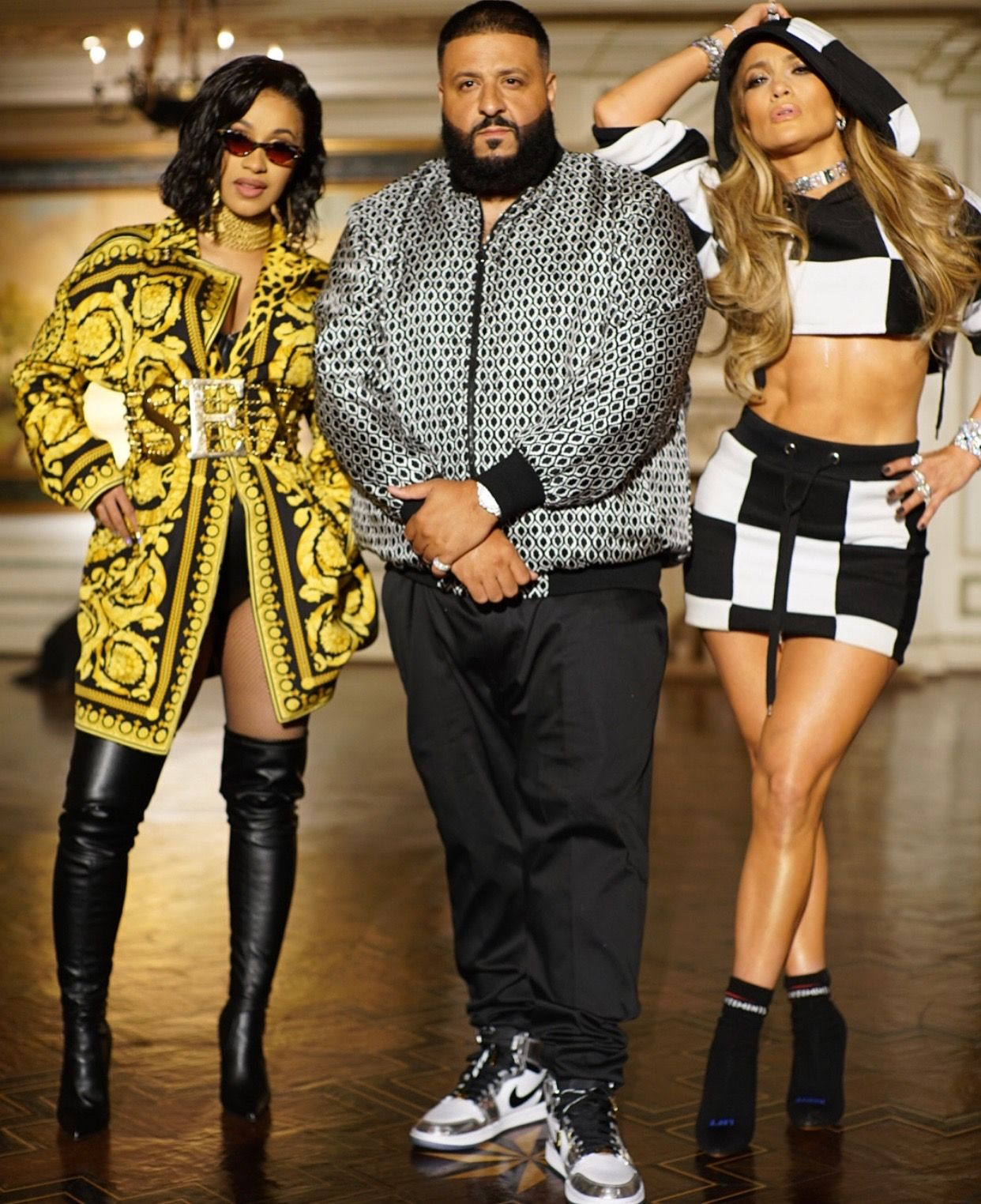 fc23dfd18fc Snapshot: Cardi B, DJ Khaled, and JLo Pose Behind-the-Scenes At Their  'Dinero' Video Shoot - Fashion Bomb Daily Style Magazine: Celebrity Fashion,  Fashion ...