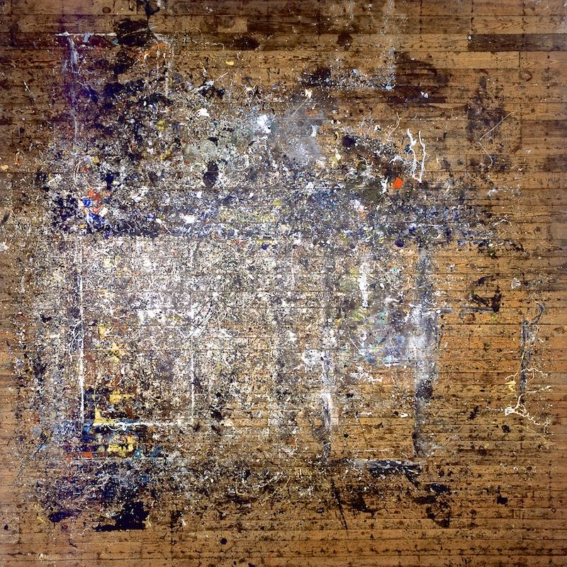 jackson pollock studio floor
