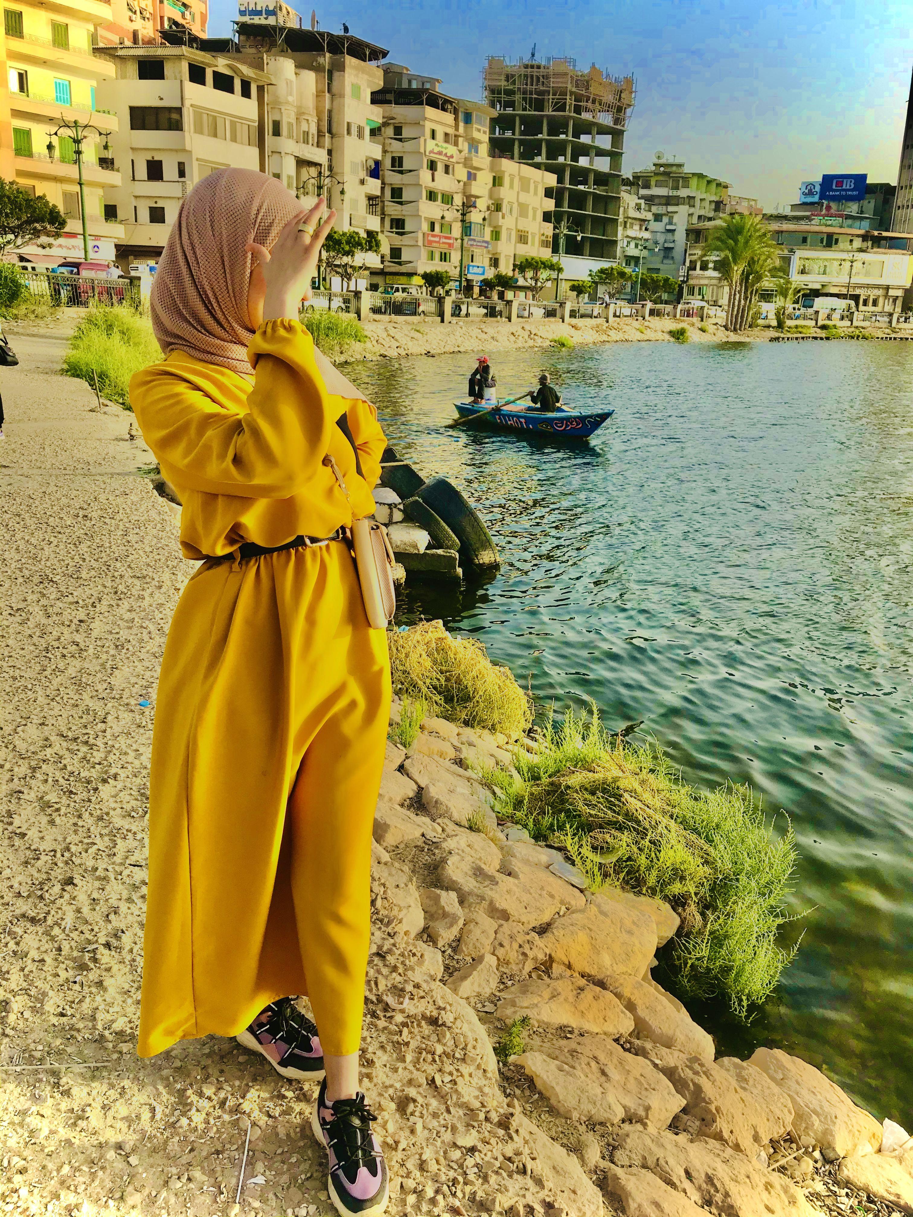 فستان اصفر Fashion Dresses Yellow