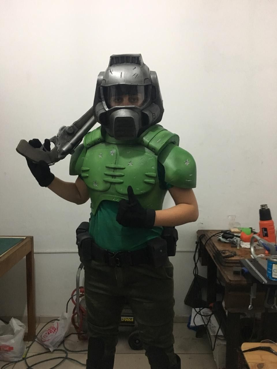 doom slayer costume buy