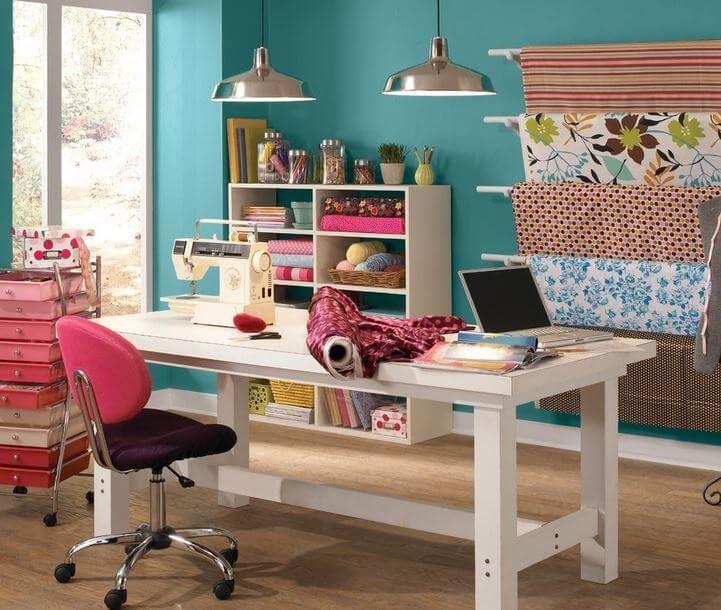 Create A Hobby Or Craft Room In 3 Easy Steps