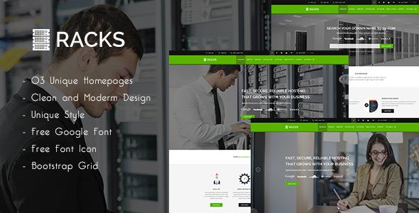 Racks | WordPress Hosting + WHMCS Theme