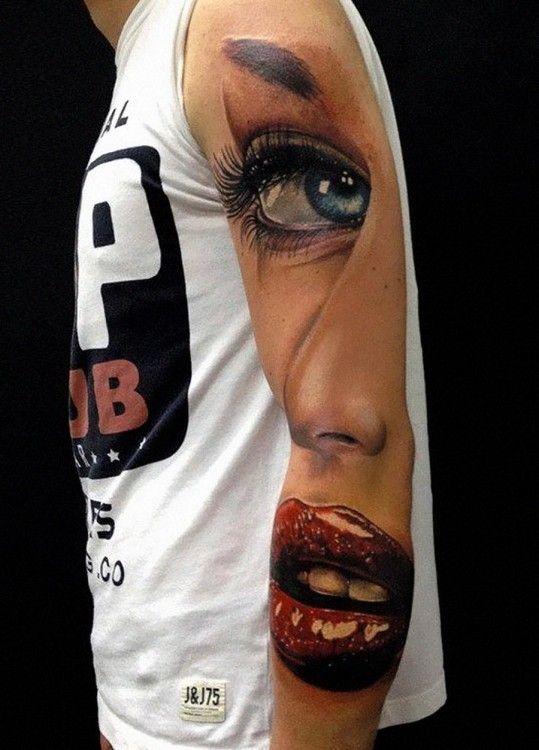 Tatuajes En 3d Que Llevaron La Creatividad A Otro Planeta