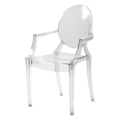 2 Piece Gamma Arm Chairs   Clear From Target