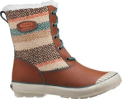 Buty Sniegowce Kozaki Zimowe Keen Elsa Wool Brown 6518887155 Oficjalne Archiwum Allegro Boots Waterproof Winter Boots Winter Boots