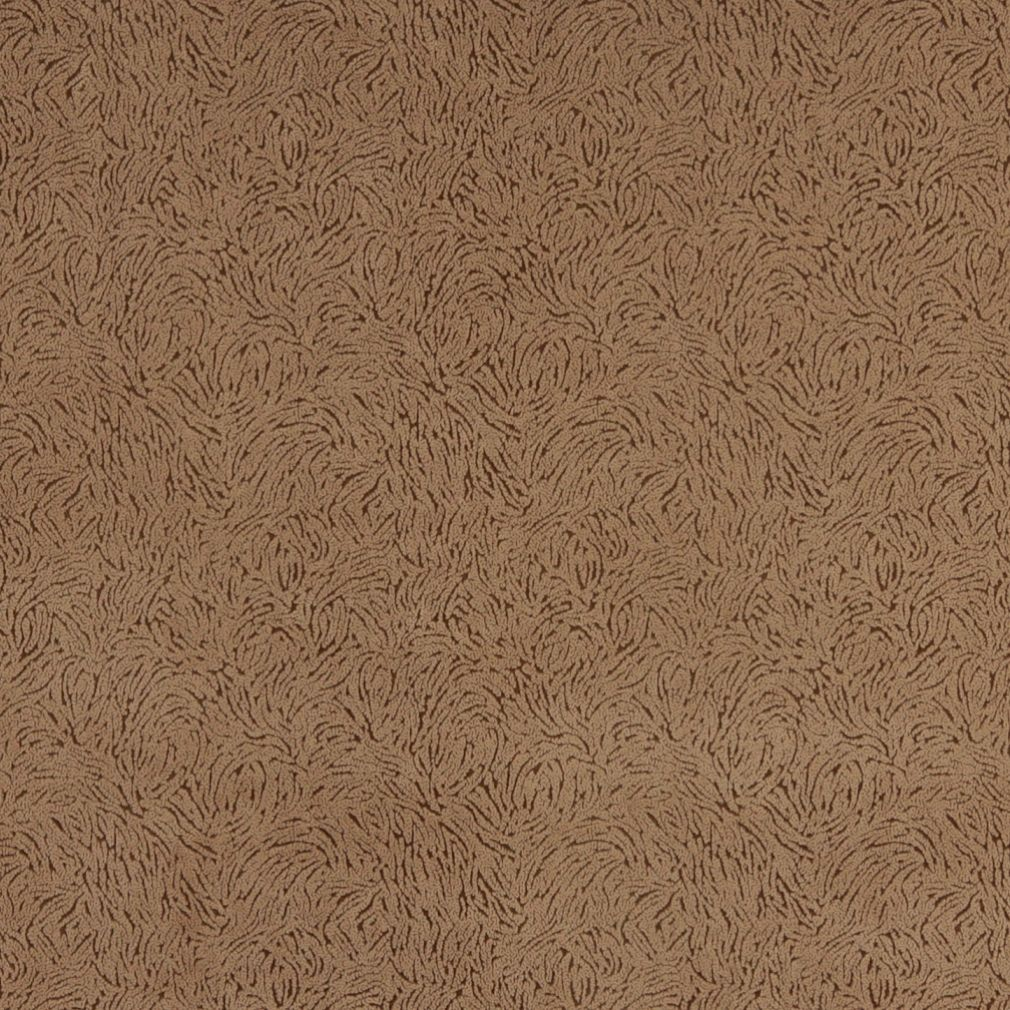 Light Brown Abstract Microfiber Upholstery Fabric By The Yard