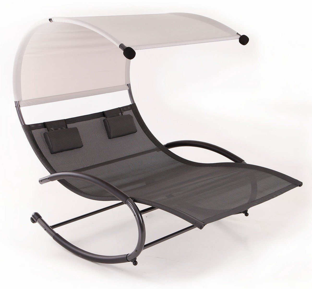 Amazoncom patio furniture Wicker Patio Amazoncom Belleze Double Chaise Rocker Patio Furniture Seat Chair Swing W Canopy Pillow Gray Patio Lawn Garden Pinterest Amazoncom Belleze Double Chaise Rocker Patio Furniture Seat Chair