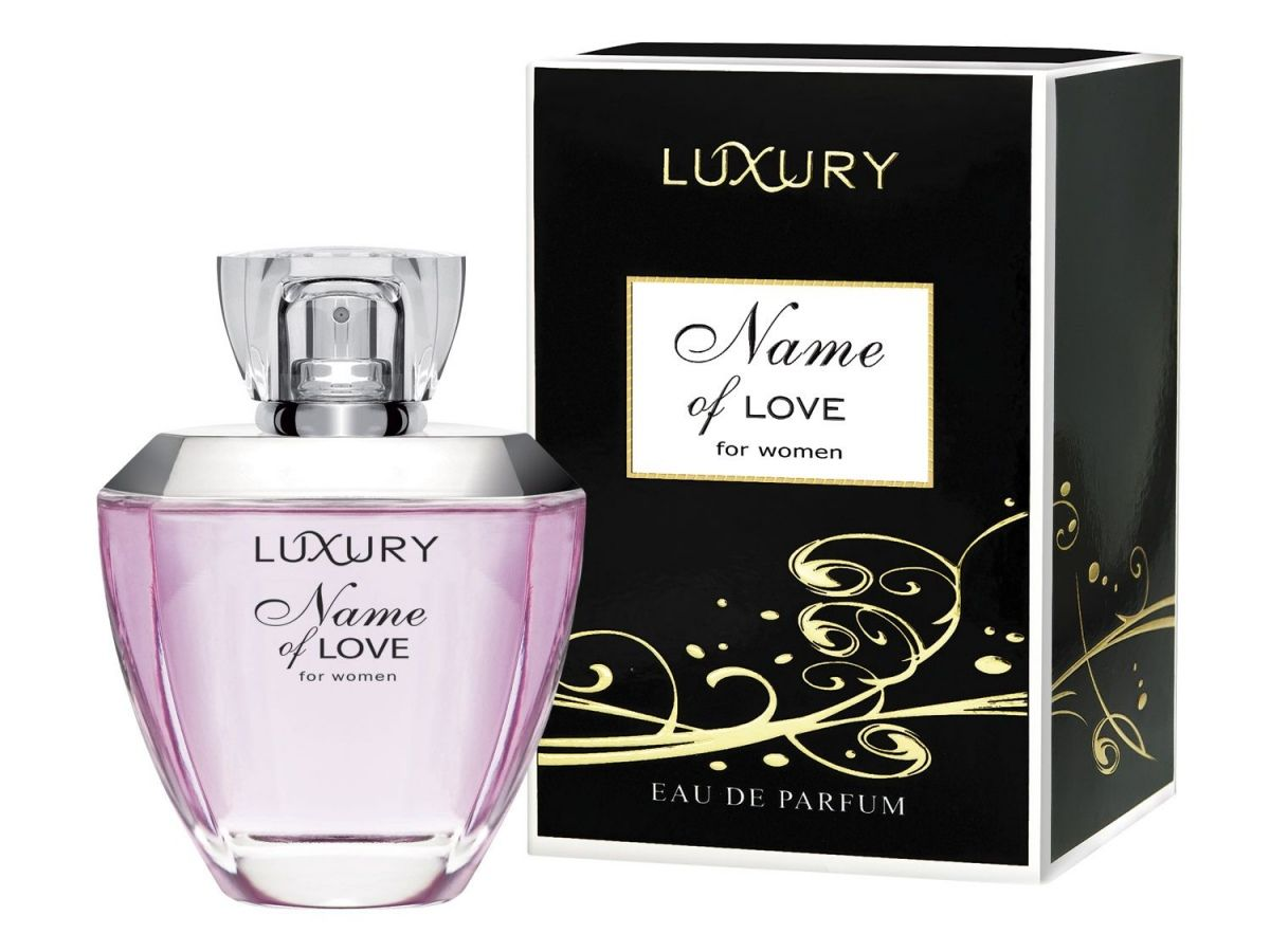Luxury Name Of Love By Lidl Perfume Eau De Parfum Perfume Bottles