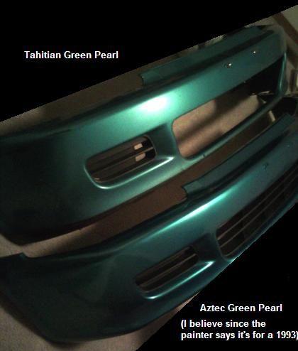 Tahitian Green Vs Aztec Green Honda Tech Tahitian Honda Civic Dx Honda