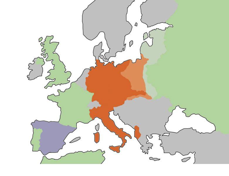 Interactive World War II Political Map (1938-1945) | World War II ...