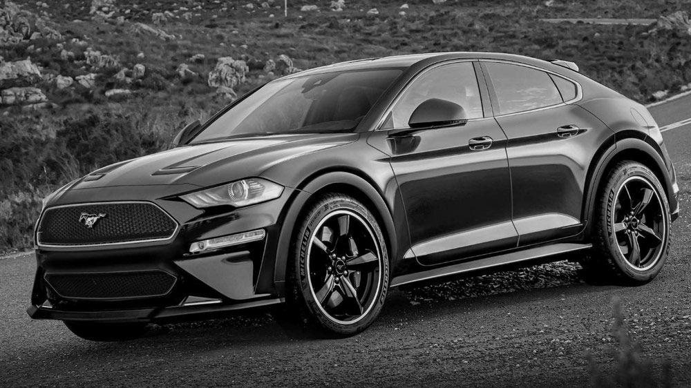 Ford Sprema Suv Inspirisan Mustangom Mach E Ford Mustang Suv