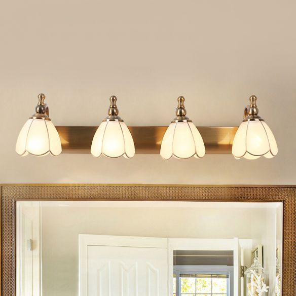 Bathroom Wall Light Litfad In 2020 Bathroom Lighting Inspiration Wall Mounted Light Glass Vanity