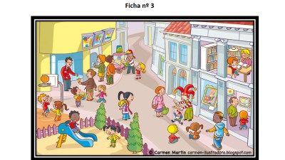 Mejora de la atención y comprensión lectora con láminas - Imagenes Educativas