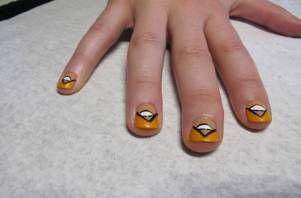 evil eye manicure