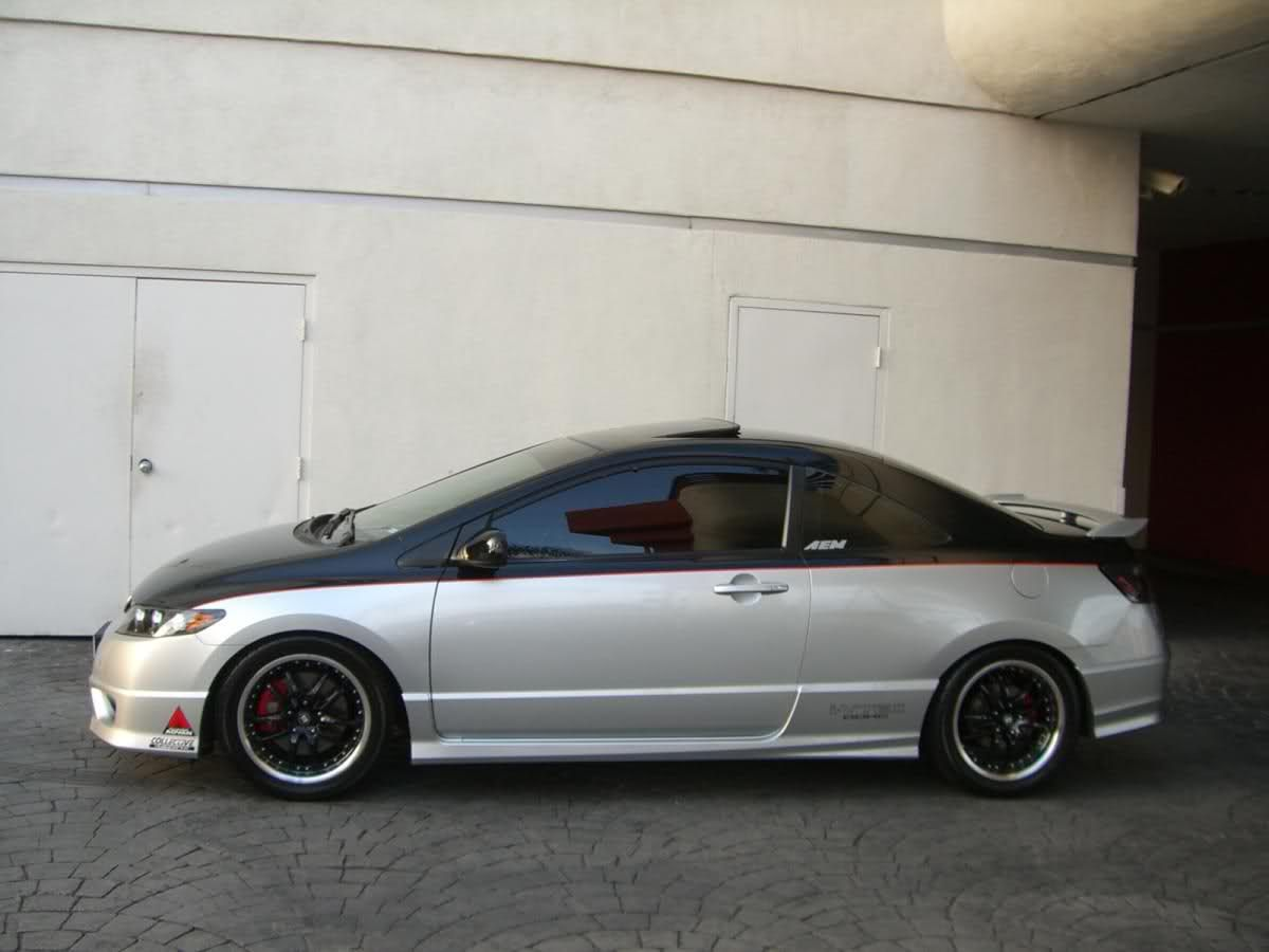 Modified 8th Gen Civic Coupe Custom Paint Yet 8th Generation Honda Civic Forum Honda Civic 2007 Honda Civic Civic Coupe