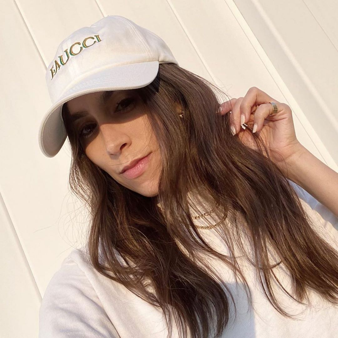 """NYC Soho �� Hair Colorist on Instagram: """"@laurencaruso_ looking quarantine cute! Hat by @socialdistancinghat donating all proceeds to @mealsonwheelsamerica Hair color by me…"""""""