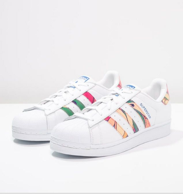 Adidas Originals SUPERSTAR Baskets basses whitelab blue