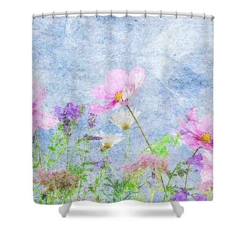 Wildflowers In Bloom Shower Curtain For Sale By Karen Steinbock