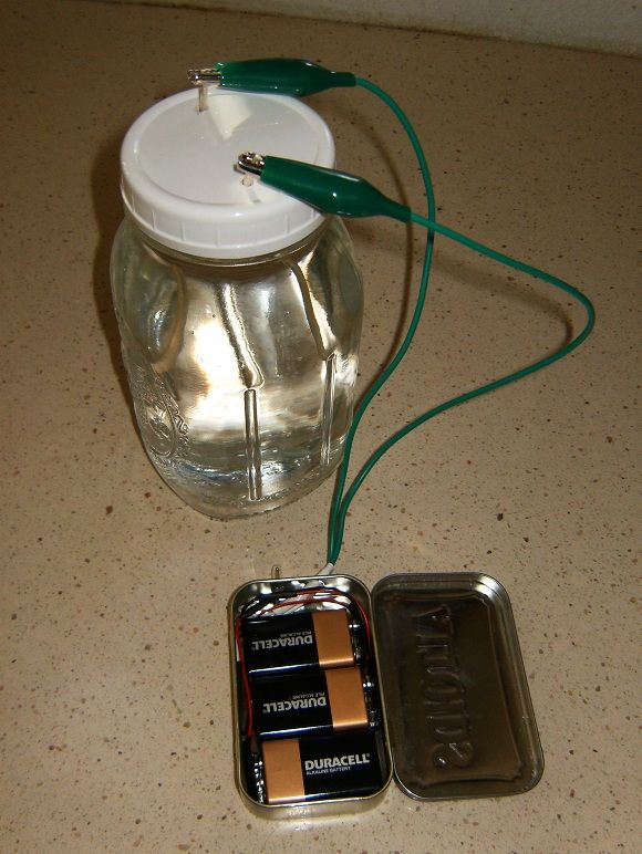 Homemade colloidal silver generator, in an Altoids mint box. How to make ...