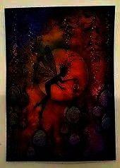 Fly Keeper Wild Vines und Fairy Thistles  silhouette  Sch Erstellt von Tracey mit Dragon Fly Keeper Wild Vines und Fairy Thistles  silhouette  Scherenschnitt  Erstellt vo...