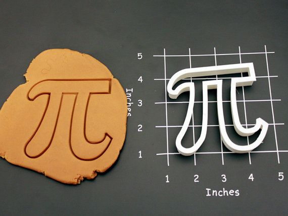 Pie Math Symbol Cookie Cutter Made To Order A0112 By Cookieparlor