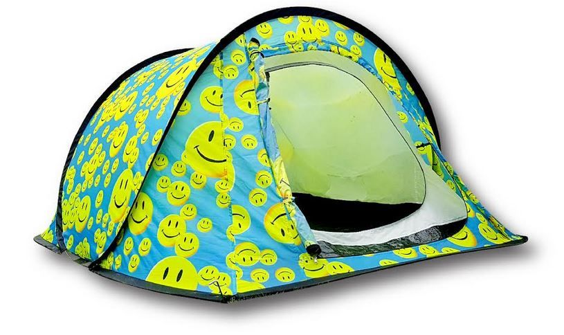 Popup Festival Tents With Funky Smiley Face Design  sc 1 st  Pinterest & Popup Festival Tents With Funky Smiley Face Design | CWS ...