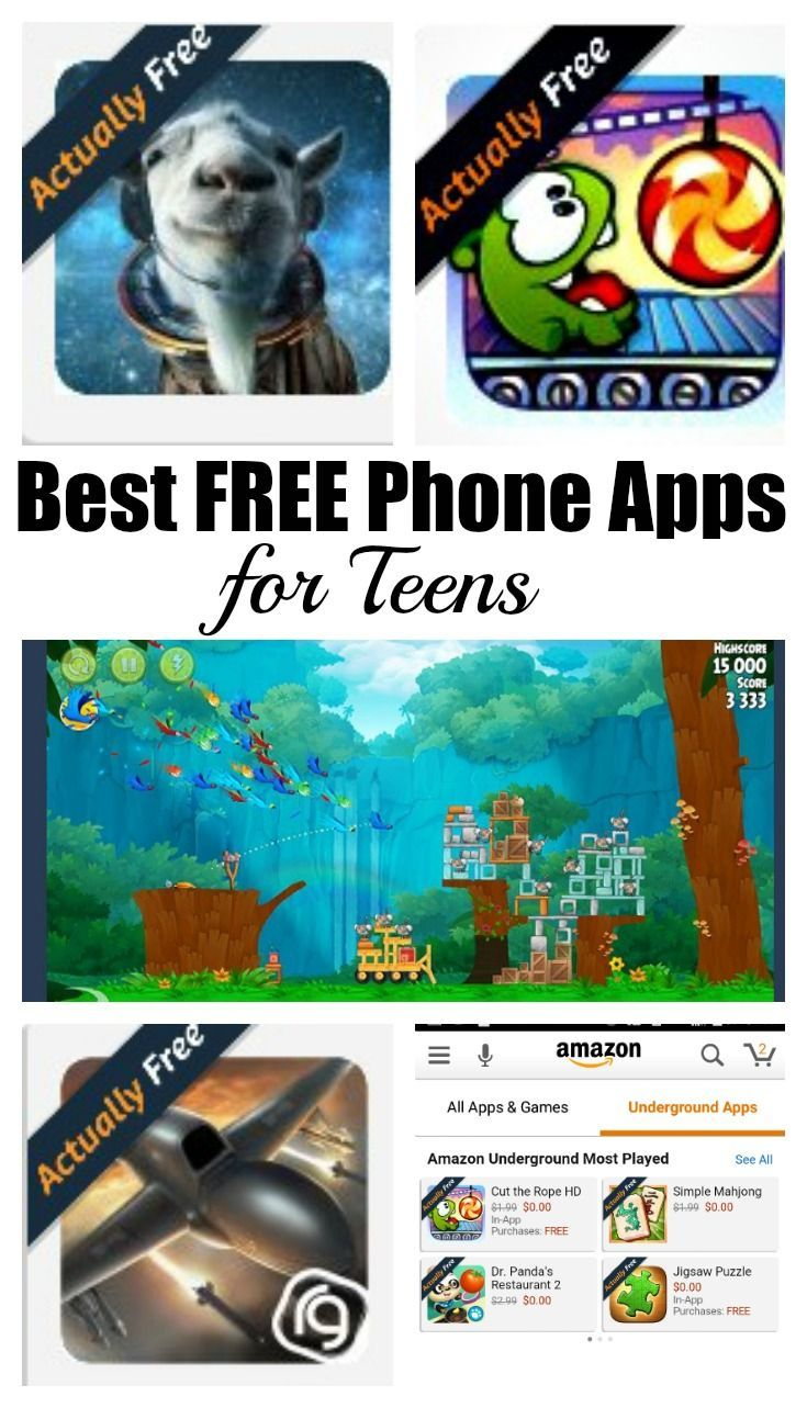 Best Free Phone Apps for Teens keep your teens busy