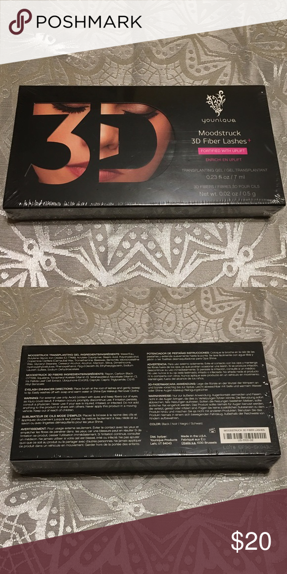 37eaed69c8a Younique Moodstruck 3D Fiber Lashes in Black NWOT Younique Moodstruck 3D  Fiber Lashes in Black. New in box, factory sealed. Price is firm.