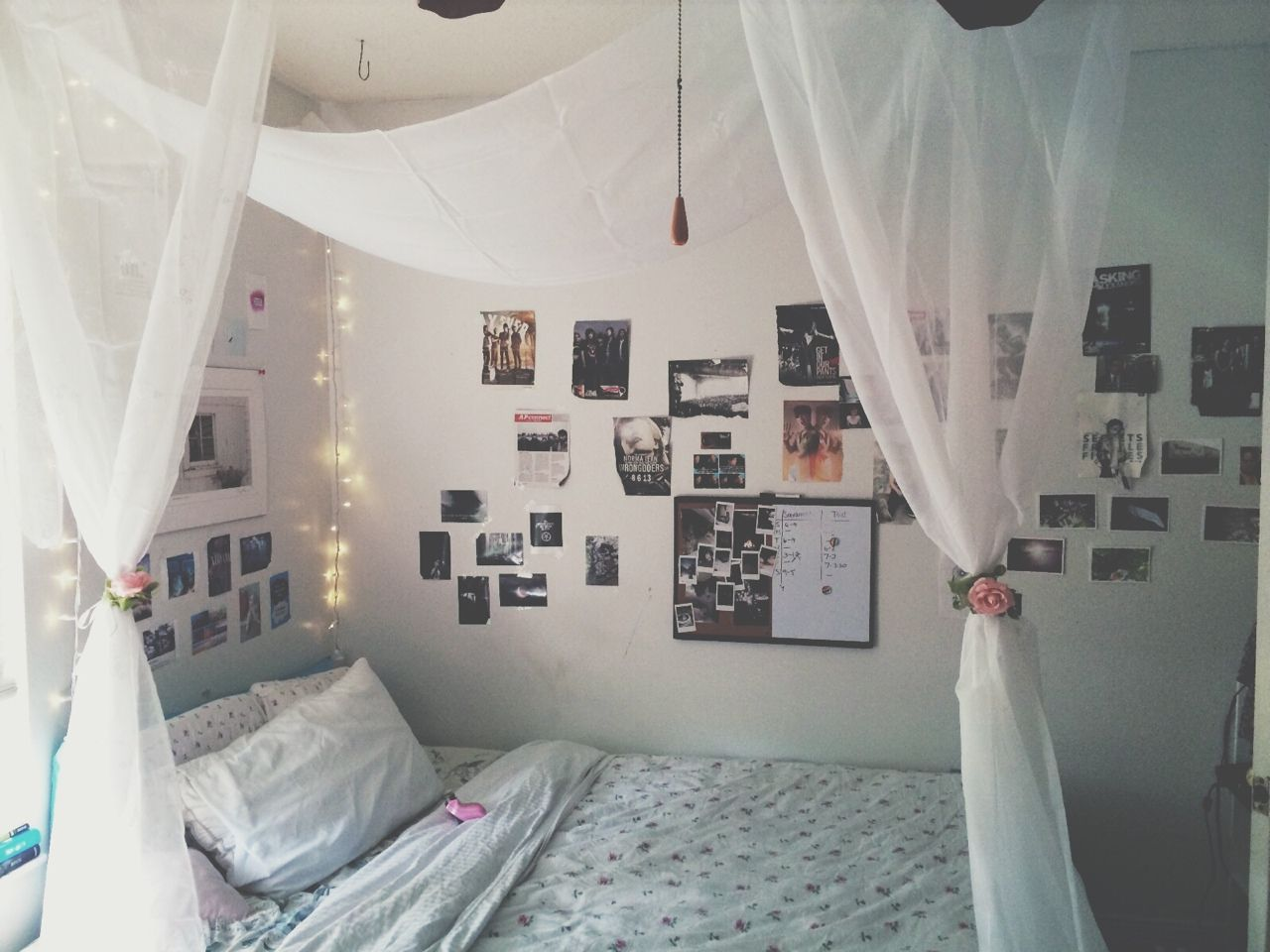 Pretty bedrooms tumblr for girls - Room Bedroom And Bed Image