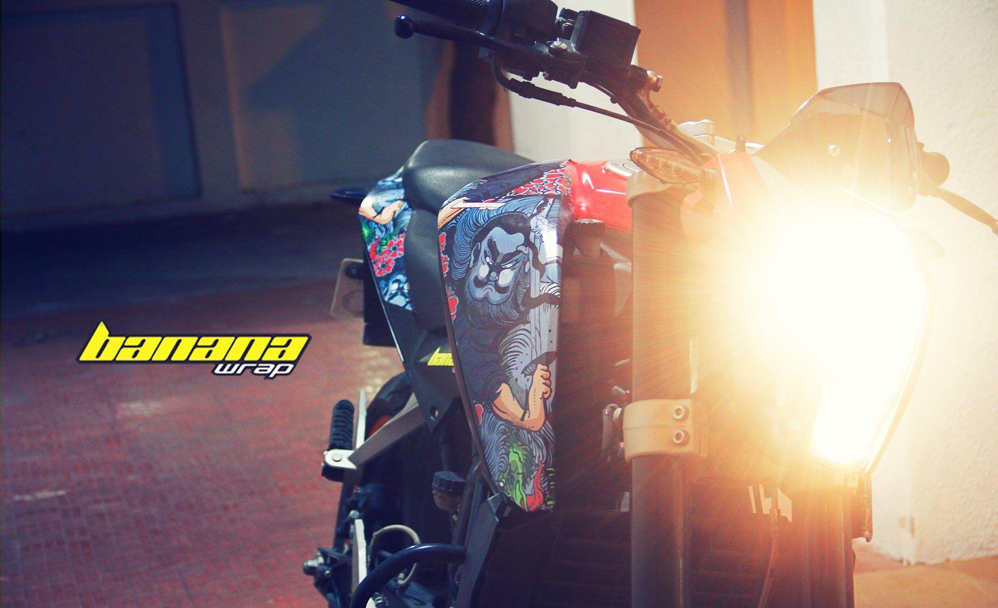 Yakuza Tattoo Vinyl Wrap Motorcycle Vinyl Wrap Pinterest - Vinyl for motorcycles