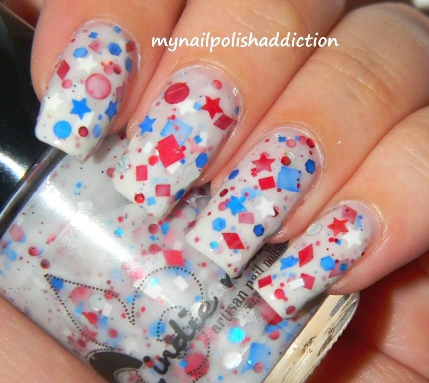 JINDIE-Pendence is a special, limited edition, limited stock nail polish.