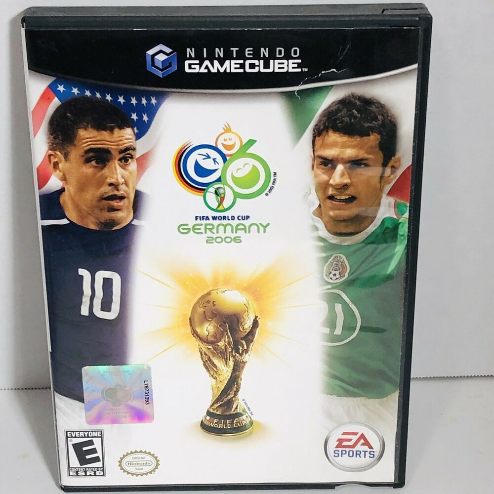 Find Many Great New Used Options And Get The Best Deals For Nintendo Gamecube Fifa World Cup German Fifa World Cup Video Game Systems Nintendo Gamecube Games