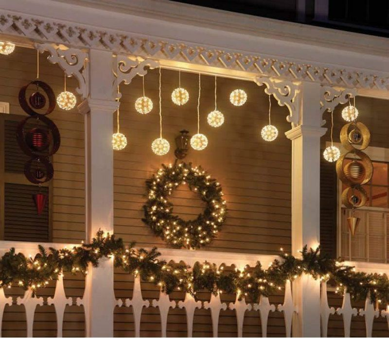 anleitung weihnachtsdeko f r balkon balkon anleitungen. Black Bedroom Furniture Sets. Home Design Ideas
