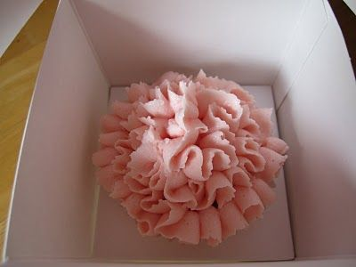 Ruffle Cupcakes, for Bridal or Baby Showers.