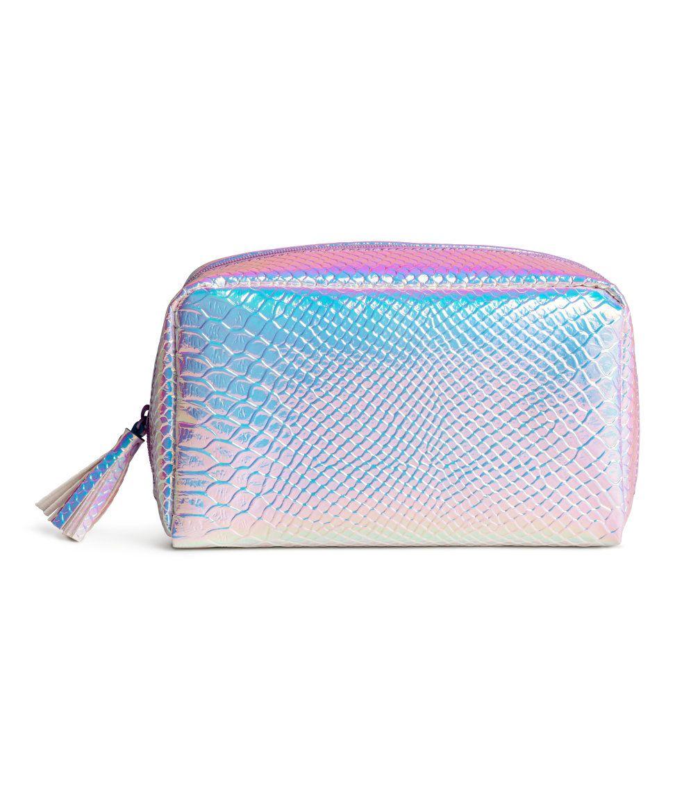 98b3dee1fece Makeup Bag | H&M Pastels | H&M PRETTY PASTELS | Bags, Purple bags ...