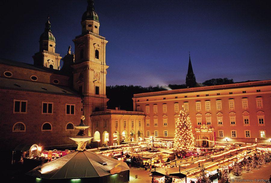 Christmas market in Salzburg/Austria