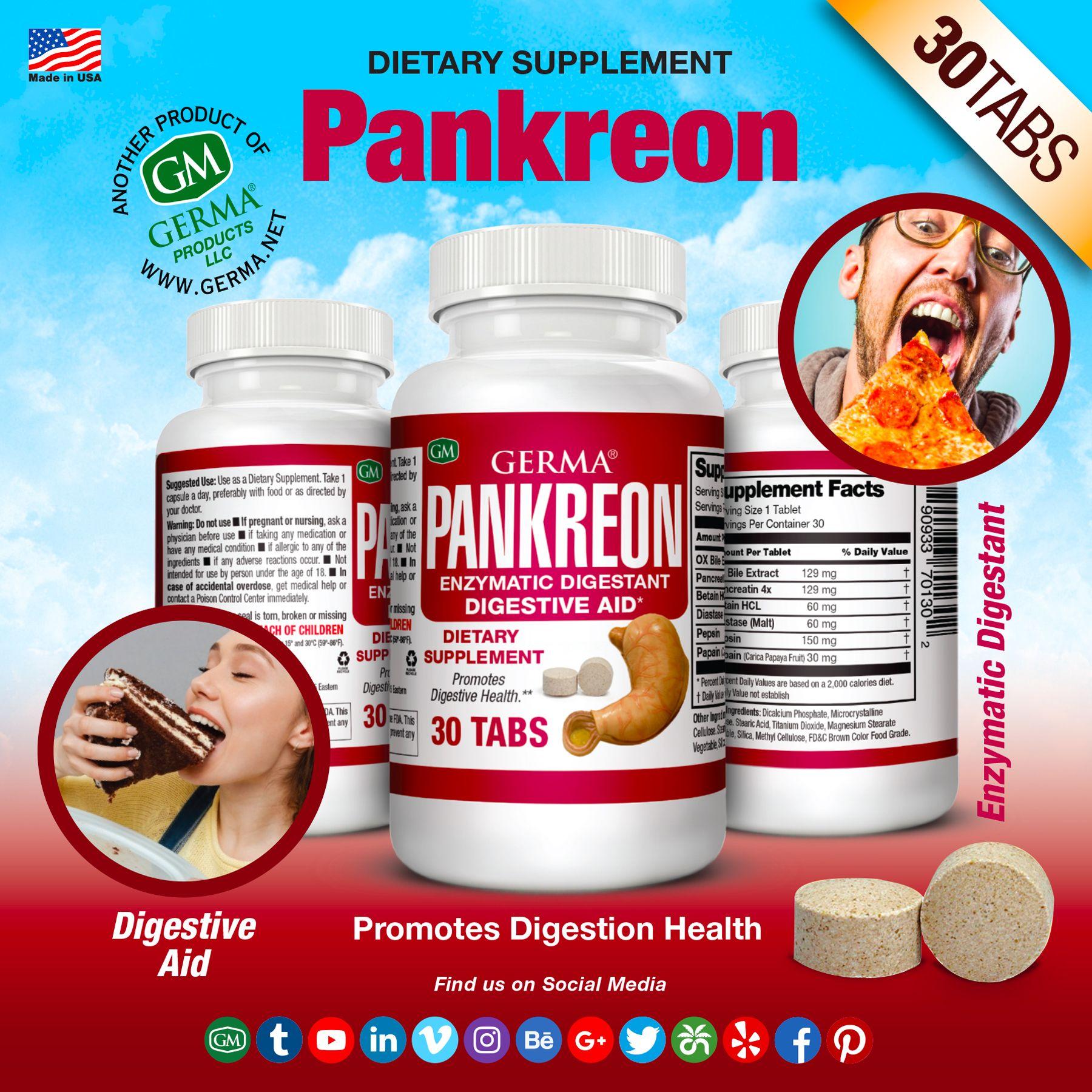 Germa Pakreon In 2021 Digestion Aid Digestive Enzymes Digestion