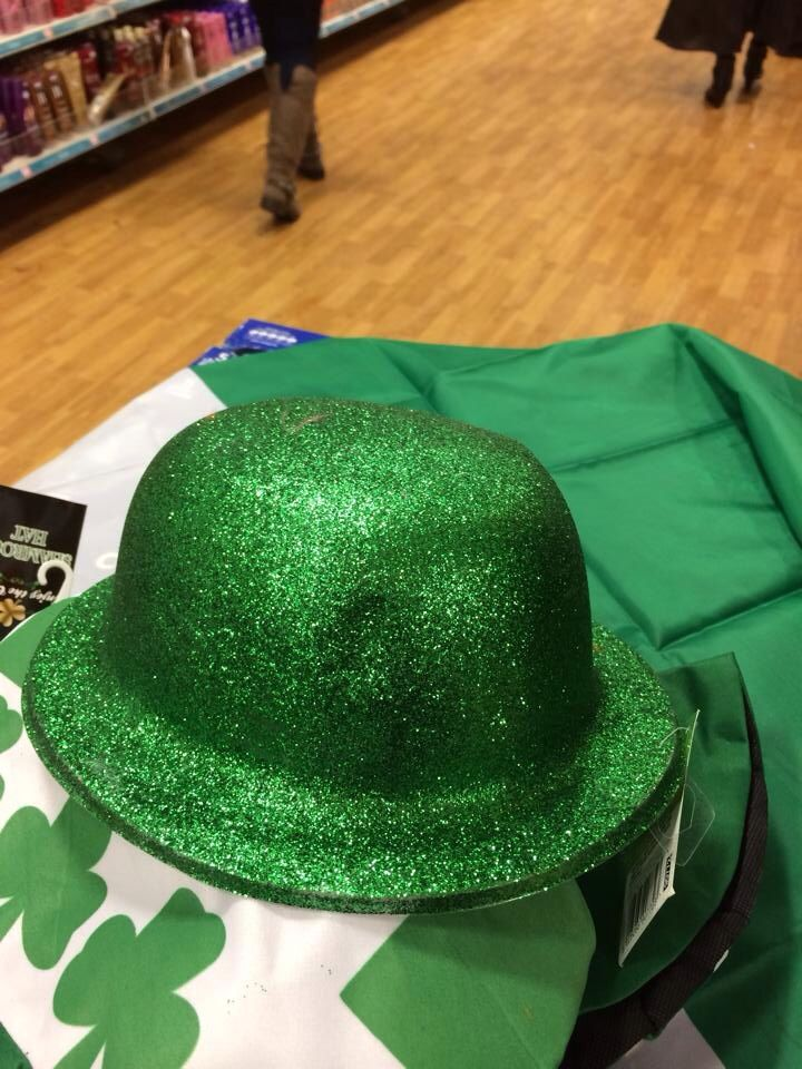 More hats all in the green st Patricks themed colour