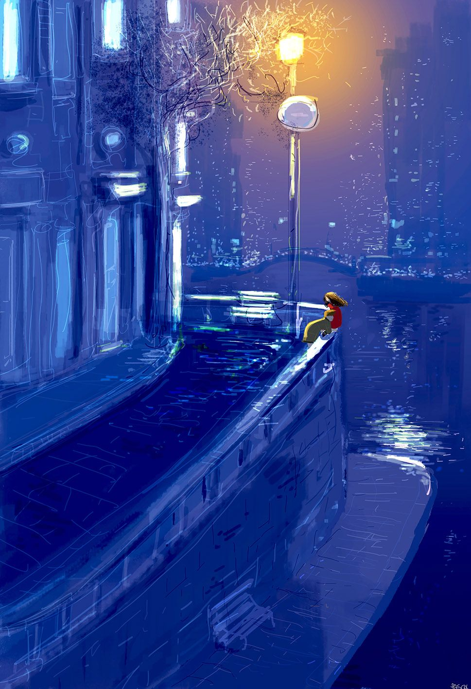 Little streets and big stories by PascalCampion.deviantart.com on @deviantART