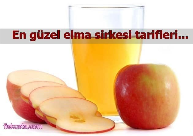 Evde Elma Sirkesi Yapımı 7 Doğal Elma Sirkesi Tarifi Kış