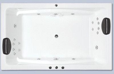 Indoor spa bath indoor RECTANGLE 20 Jets baths rrp $3850 1800 x 1100 x 500 *
