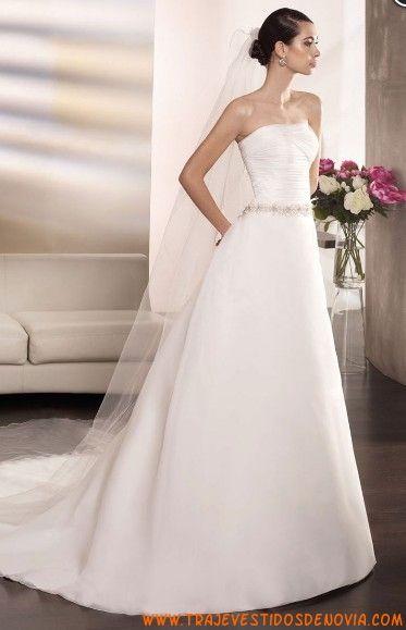 Organza vestidos de novia sencillos y elegantes 2013 | Mi vestido ...